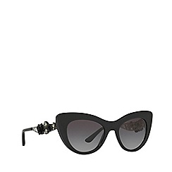 Dolce & Gabbana - Black DG4302B cat eye sunglasses