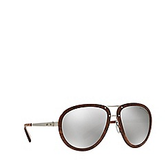 Ralph Lauren - Silver RL7053 pilot sunglasses