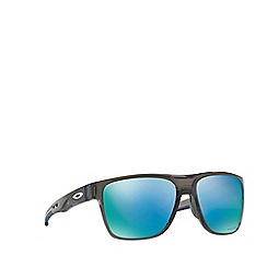 Oakley - Grey smoke 'Crossrange' square OO9360 sunglasses
