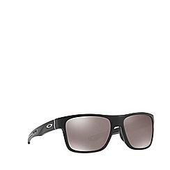 Oakley - Matte black 'Crossrange' square OO9361 sunglasses