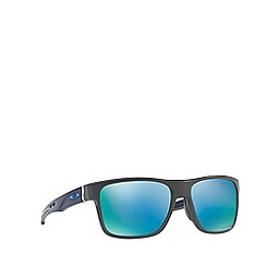 Oakley - Matte grey 'Crossrange' OO9361 square sunglasses