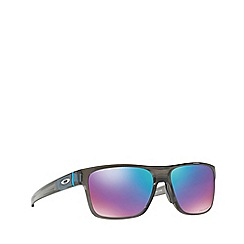 Oakley - Grey smoke 'Crossrange' square OO9361 sunglasses