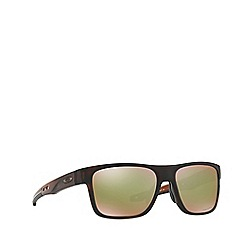 Oakley - Matte brown 'Crossrange' O9361 square sunglasses