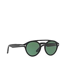 Tom Ford - Black 'Ft0537 Clint' FT0537 irregular sunglasses