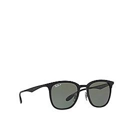 Ray-Ban - Matte black RB4278 square sunglasses
