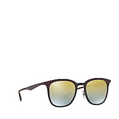 Ray-Ban - Matte brown RB4278 square sunglasses