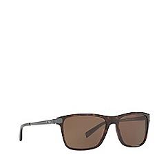 Ralph Lauren - Dark havana RL8155 square sunglasses