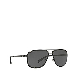 Ralph Lauren - Black RL7055 pilot sunglasses