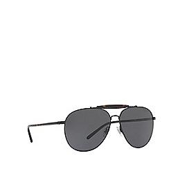 Polo Ralph Lauren - Black PH3106 pilot sunglasses