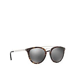 Polo Ralph Lauren - Shiny dark havana PH4121 round sunglasses