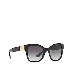 Dolce & Gabbana - Black DG4309 square sunglasses