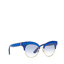 Dolce & Gabbana - Blue DG6109 irregular sunglasses