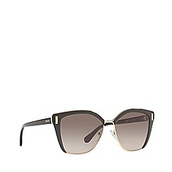 Prada - Brown PR 56TS square sunglasses
