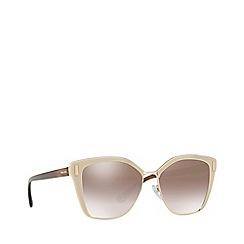 Prada - Light brown PR 56TS square sunglasses