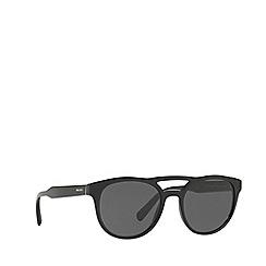 Prada - Black PR 13TS square sunglasses