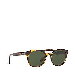 Prada - Havana PR 13TS square sunglasses