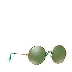 Ray-Ban - Shiny copper round RB3592 sunglasses