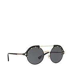 Versace - Gold VE4337 round sunglasses