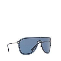 Versace - Silver VE2180 pilot sunglasses