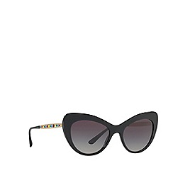 Dolce & Gabbana - Black 0DG4307B Cat Eye sunglasses