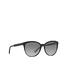 Emporio Armani - Black EA4101 cat eye sunglasses
