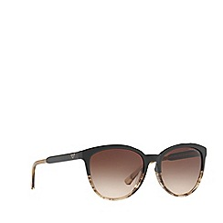 Emporio Armani - Brown EA4101 cat eye sunglasses
