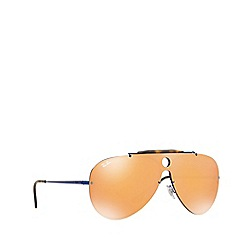 Ray-Ban - Blue 0RB3581N Pilot sunglasses