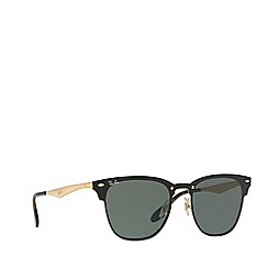 Ray-Ban - Gold 0RB3576N square sunglasses