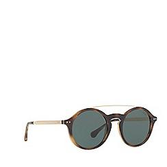 Polo Ralph Lauren - Dark havana PH4122 round sunglasses