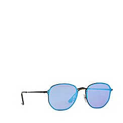 Ray-Ban - Black RB3579N square sunglasses