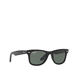 Ray-Ban - Black WAYFARER RB4340 square sunglasses