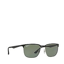 Ray-Ban - Black rb3569 square sunglasses