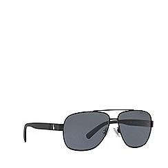 Polo Ralph Lauren - Black  PH3110 pilot sunglasses