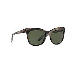 Ralph Lauren - Brown 0rl8158 square sunglasses
