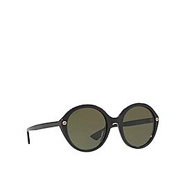 Gucci - Black GG0023S round sunglasses