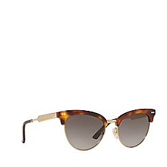 Gucci - Tortoiseshell GG0055S cat eye sunglasses