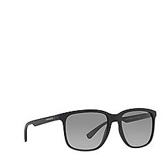 Emporio Armani - Black  EA4104 square sunglasses