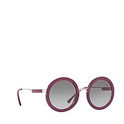 Emporio Armani - Purple EA4106 round sunglasses