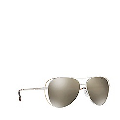 Michael Kors - Silver LAI MK1024 pilot sunglasses