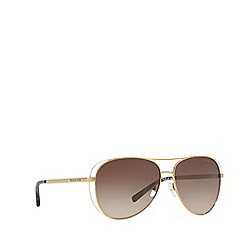2dbf6be7b4 Michael Kors - Gold LAI MK1024 pilot sunglasses