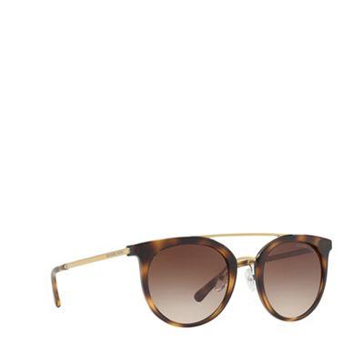 187f4f8f04 Michael Kors Dark Tort ILA MK2056 round sunglasses