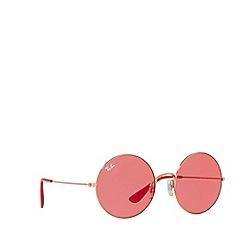 Ray-Ban - Bronze/Copper JA-JO round sunglasses