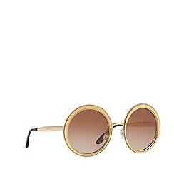Dolce & Gabbana - Gold DG2179 round sunglasses