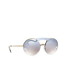 Prada - Pale Gold  PR 65TS round sunglasses