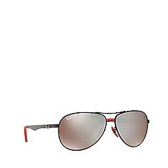 Ray-Ban - Black RB8313M pilot sunglasses