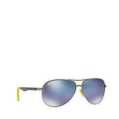 Ray-Ban - Gunmetal 0rb8313m pilot sunglasses