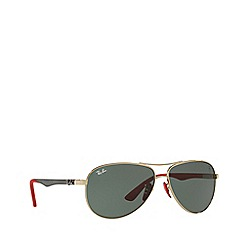 Ray-Ban - Gold RB8313M pilot sunglasses