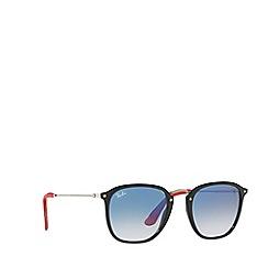 Ray-Ban - Black 0rb2448nm square sunglasses