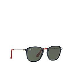 Ray-Ban - Blue 0rb2448nm square sunglasses