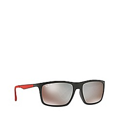Ray-Ban - Black 0rb4228m rectangle sunglasses